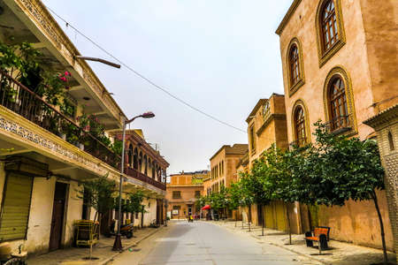Kashgar Old Town Common Uyghur Architecture Apartment Buildings Street