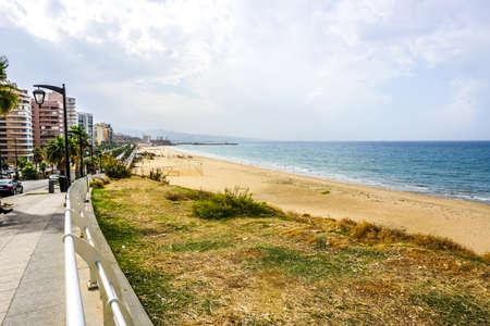 Beirut Ramlet Al Baida Public Beach with Sea View