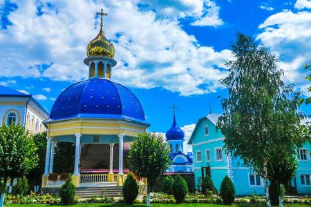 Chernivtsi Holy Ascension Banchensky Monastery Pavilion Frontal View