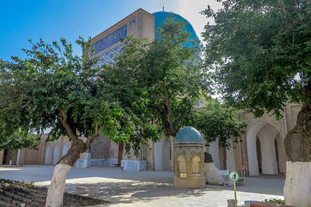 Shahrisabz Ak Saray White Palace Dorut Tilavat Complex Mausoleum Sheikh Shamseddin Kulyal Editöryel