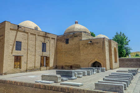 Samarkand Shah-i-Zinda Necropolis Ensemble External Tombs and Cupola