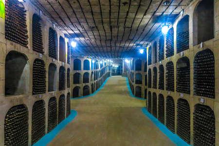 Milestii Mici Winery Wines Industrial Complex Underground Galleries Tunnels and Interior 報道画像