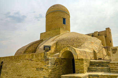 Bukhara Old City Chor Bakr Necropolis Roof Dome Viewpoint