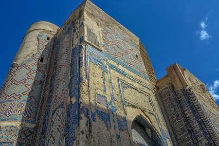 Shahrisabz Ak Saray White Palace Ruined Main Gate Entrance Viewpoint