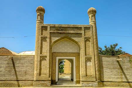 Samarkand Aksaray White Palace Main Gate Entrance Iwan Viewpoint