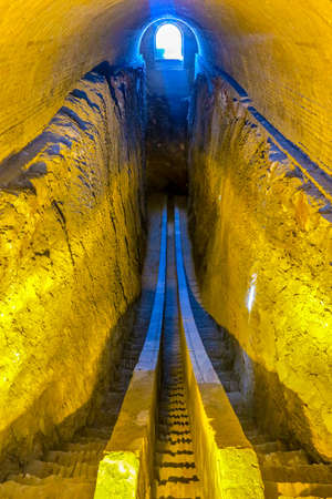 Samarkand Ulugh Beg Observatory Trench with Lower Section of Meridian Arc Editorial
