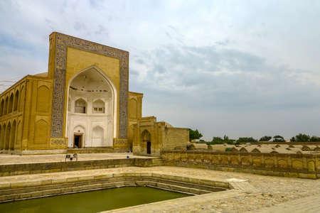 Bukhara Old City Chor Bakr Necropolis Side Viewpoint with Graveyard