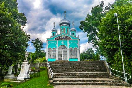 Mukachevo Saint Nicholas Monastery Chapel Church Upstairs View