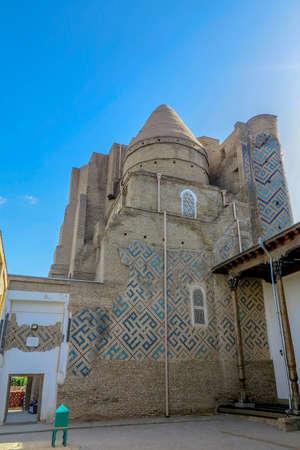 Shahrisabz Ak Saray White Palace Dorus Saodat Complex Back View Editöryel