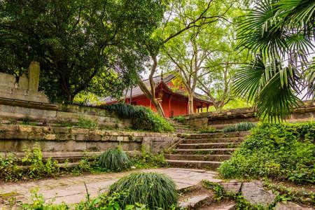 Nanjing Ming Xiaoling Mausoleum Dongpei Dianjizhi Dragon Sculptures Terrace near Tablet Hall