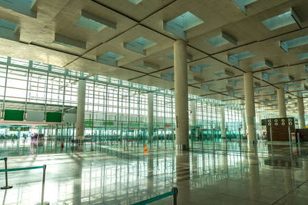 Islamabad International Airport Picturesque Breathtaking View of Domestic Departures Hall