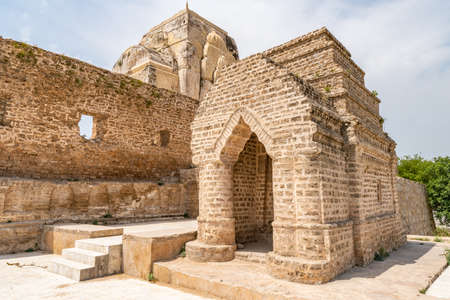 Chakwal Qila Katas Raj Hindu Temples Dedicated to Shiva Picturesque View of Shrines on a Sunny Blue Sky Day