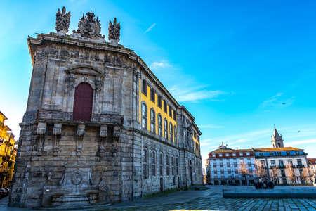 Porto Centro Portugues de Fotografia Portuguese Centre of Photography Picturesque View on a Blue Sky Day in Winter