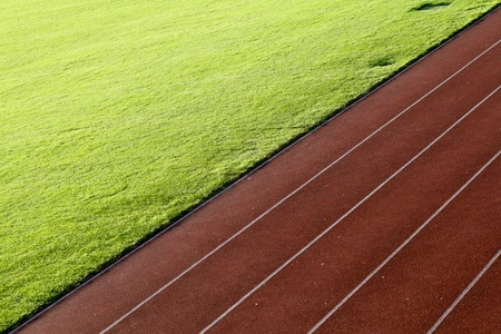 track and field race track with field photo