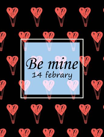 February 14-day of lovers hearts