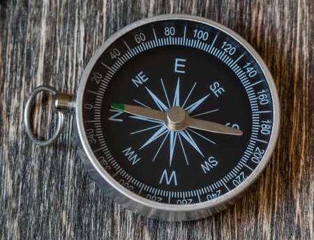 Old compass closeup