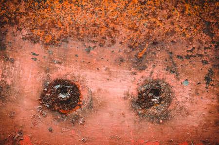 tin with holes close up  tin with holes