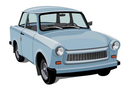 Vector design element classic city car Illustration