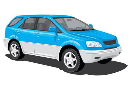 crossover: SUV Illustration