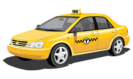 windshield: taxi