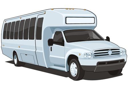 passenger buses: Autob�s Vectores