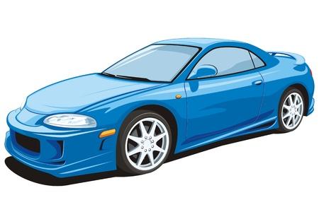 Sports car Stock Vector - 18934531