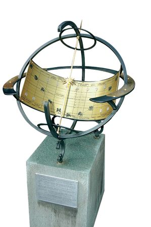 astrolabe (sun clock) photo