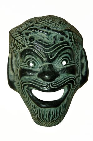 mimicry: The mask of the Greeks God of Joy
