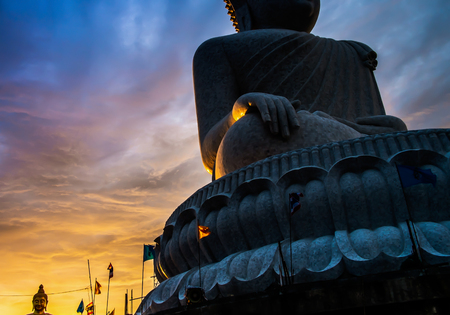 Big Buddha Temple, Phuket at Golden Hour