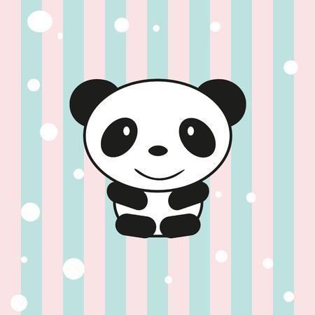 petite: Cartoon little panda