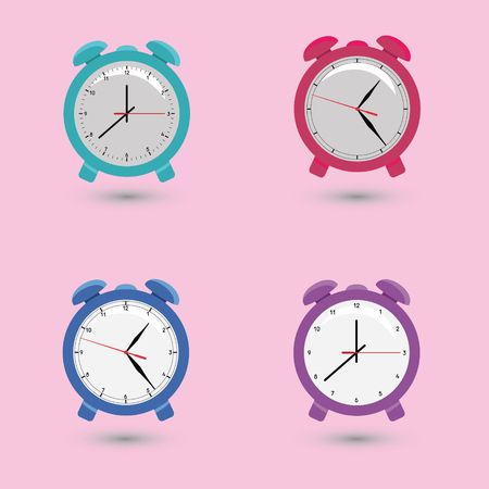 alarms: Set alarms with different dials