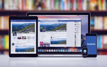 Facebook on the Apple iPhone 7 iPad Pro Apple Watch and Macbook Pro