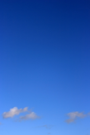 Clear blue sky and small clouds Stock Photo - 17181638