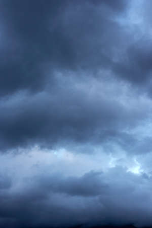 Stormy clouds on spring evening Stock Photo - 17454442