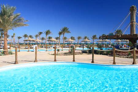 Tropical beach  Morocco