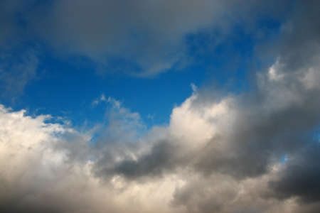 Stormy clouds on spring evening Stock Photo - 17666750