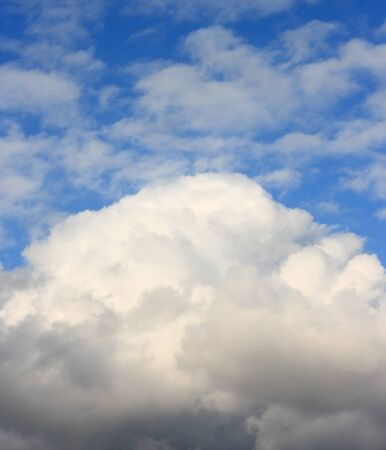 Top of the clouds  Sunny day  Cumulus cloud Stock Photo - 17666770