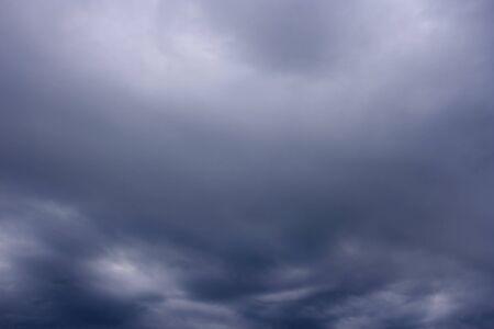 Rainy cloudy sky before the storm Stock Photo - 17884027
