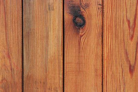 Brown tablones de madera en una fila fondo de madera natural Foto de archivo
