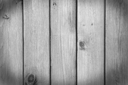 Old grey wooden background  Wooden rustic fence, black and white shot  Stock Photo
