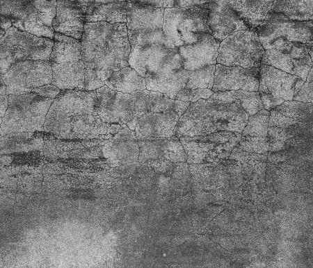 Grey concrete wall with scratches  Old weathered concrete wall Stock Photo - 18865937
