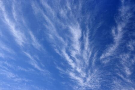 stratus: Clouds against the blue sky  Stock Photo