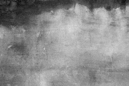 Grey wall as in horror movie  Old concrete wall