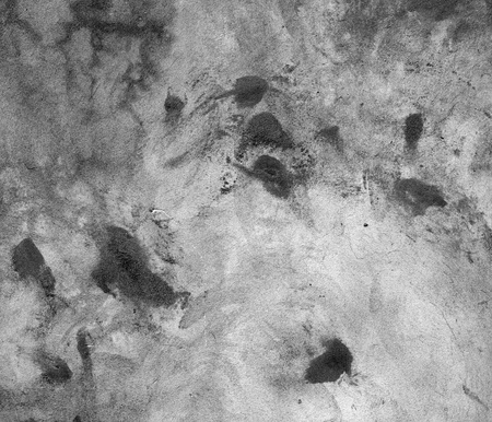 Raw concrete wall with spots  Wet plaster on a wall  photo
