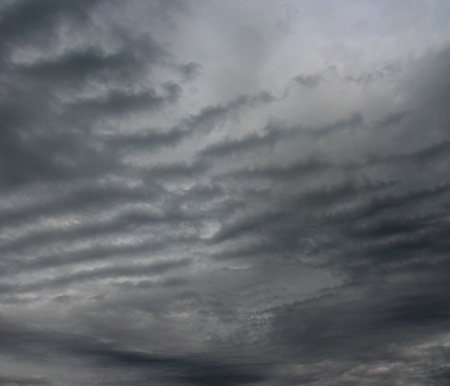 Dark stormy clouds  Clouds over horizon   photo