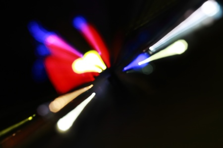 Light in a modern disco Disco, DJ plays   photo