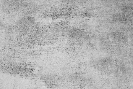 Grey background. Painted iron old wall.