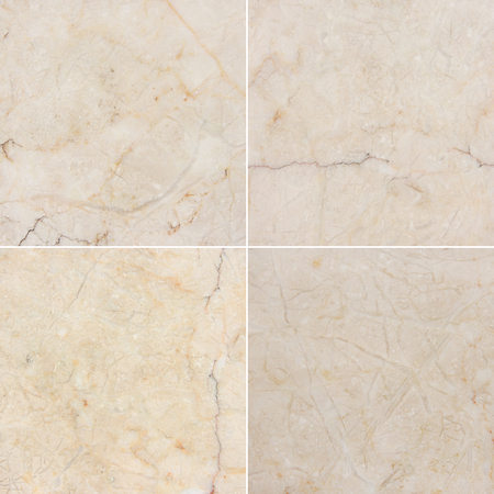 Four different texture of a light marble. (high.res.) Marble and granite with natural pattern. See You please more marble, granite and other (best quality) in my portfolio. photo
