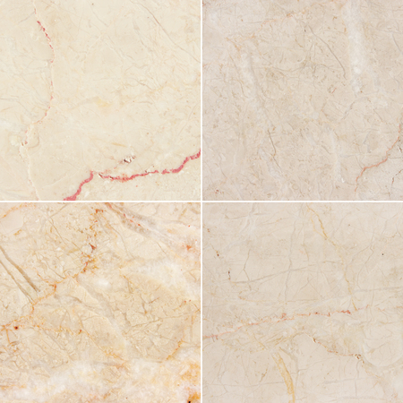 Four different texture of a light marble   high res   Marble and granite background with natural pattern  See You please more marble, granite and other backgrounds best quality  in my portfolio   photo