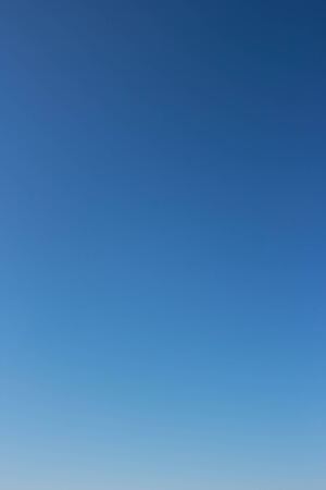without clouds: Clear blue sky without clouds.